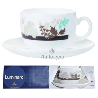 Чайный сервиз Luminarc Foliage Фолиаж - 220 мл х 6 персон.